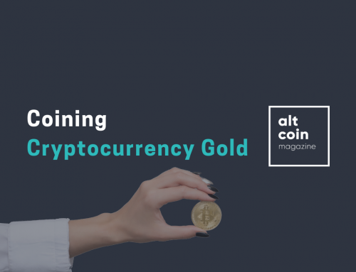 Coining Cryptocurrency Gold