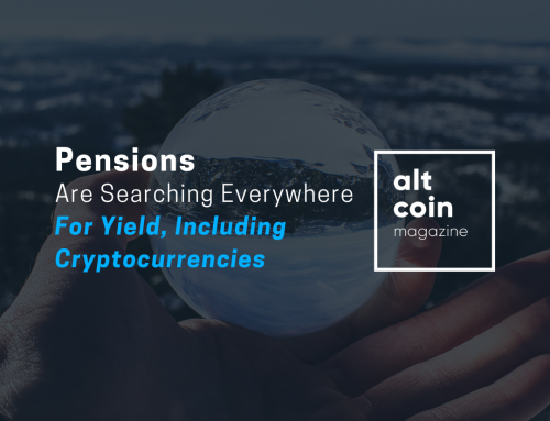 Pensions Are Searching Everywhere for Yield, Including Cryptocurrencies